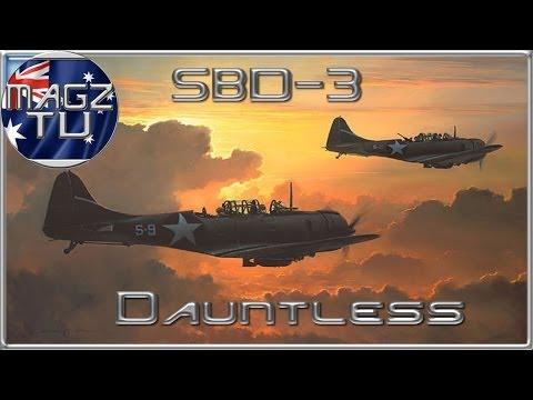 War Thunder - SBD-3 Dauntless - Realistic Battles