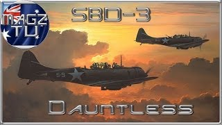 War Thunder - SBD-3 Dauntless - Realistic Battles