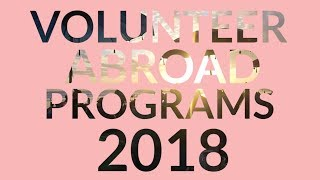 Volunteer Abroad: Top Programs 2018 With IVHQ
