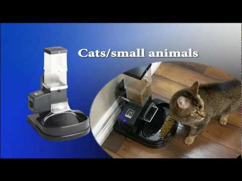 Timed Portion Controlled Pet Feeder (SUPER FEEDER®)-Infomercial / Assembly Video