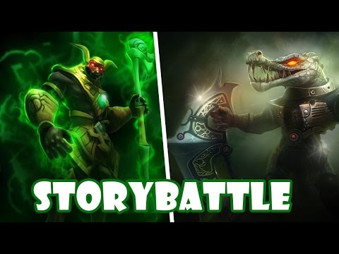 STORY-BATTLE | NASUS VS RENEKTON  - DEKO VS MARBOSSA