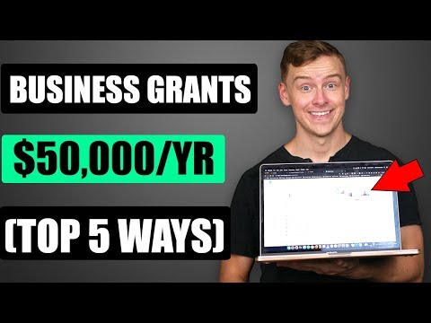 Top 5 Grants To Start A Business (The BEST Small Business Grants)
