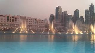 I Will Always Love You (Whitney Houston) - Dubai Fountain