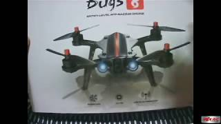MJX BUGS 8 Racing Drone Unboxing Review