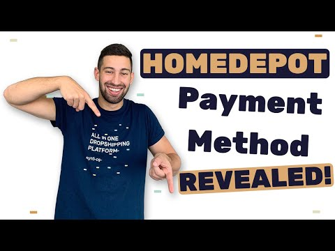 Homedepot Dropshipping: The Secret Payment Method Of Homedepot Revealed!