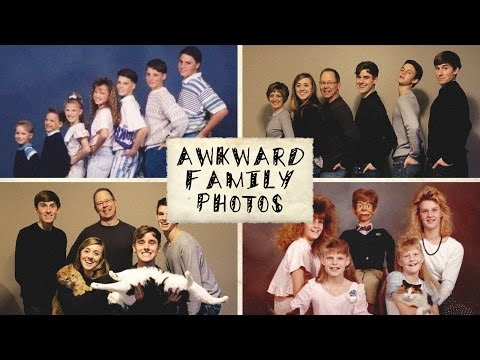 Recreating Awkward Family Photos (ft. My Family)