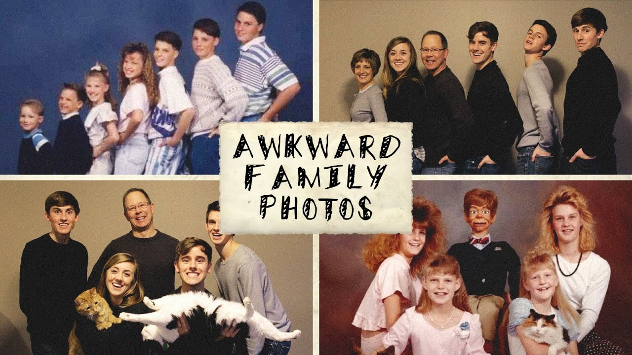 Recreating Awkward Family Photos (ft. My Family) - YouTube: https://youtube.com/watch?v=ijtpxgnrgmc