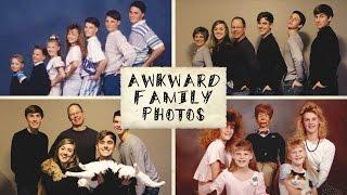 Video Recreating Awkward Family Photos (ft. My Family) download MP3, 3GP, MP4, WEBM, AVI, FLV Juli 2018