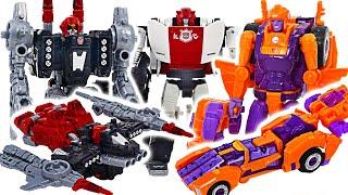 Transformers War for Cybertron Powerdasher Cromar VS Lancer! | DuDuPopTOY