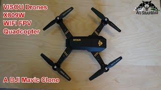 Check out this DJI Mavic Clone Quadcopter