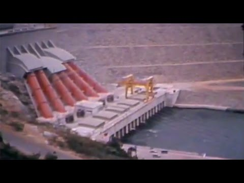 The Akosombo Hydroelectric Plant - Ghana (1966)