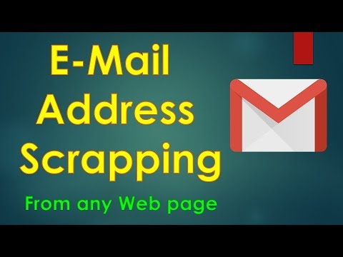 Fetch E-Mail Addresses From Any Web Page | Data Mining |