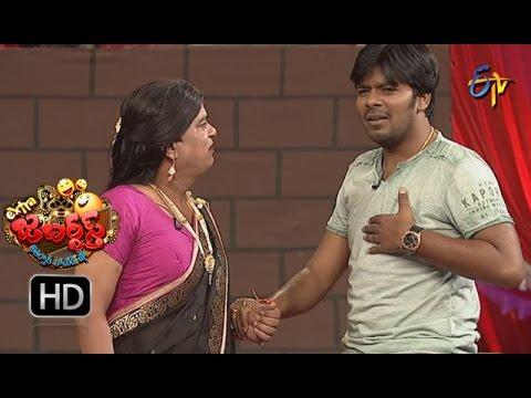 Sudigaali Sudheer Performance | Extra Jabardsth | 28th April 2017 | ETV Telugu