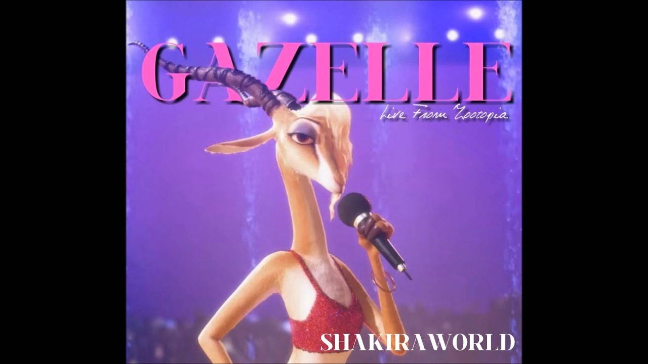 Try Everything Gazelle Live From Zootopia Youtube