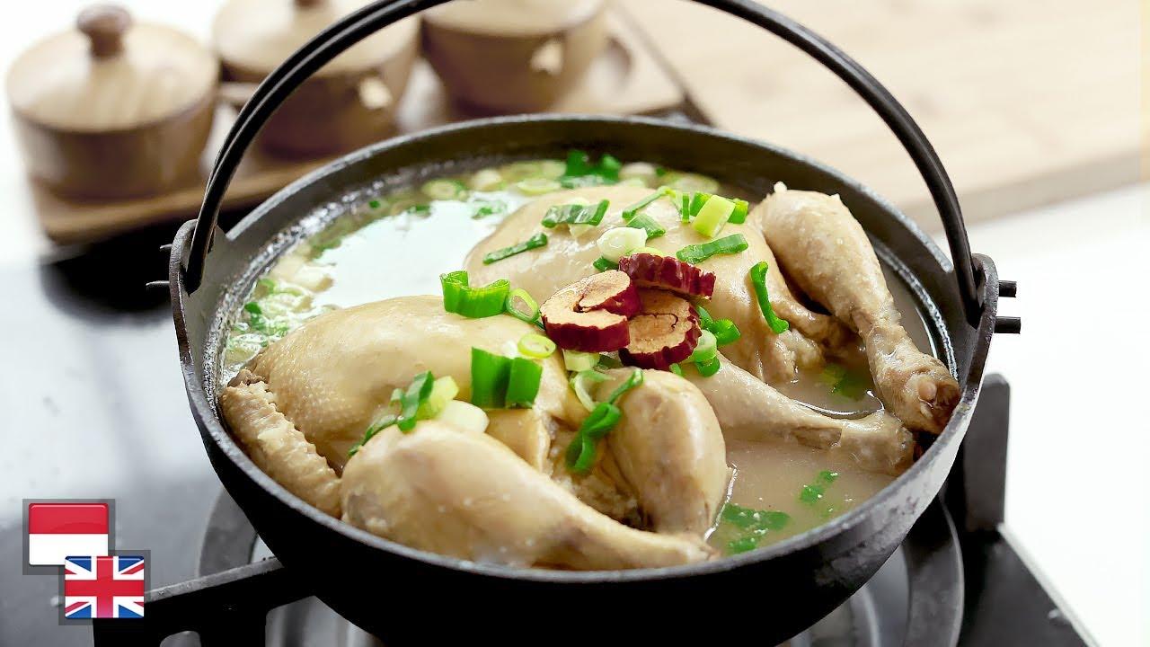 Sehat Praktis! Resep SAMGYETANG: Sup Ayam Ginseng Khas Korea