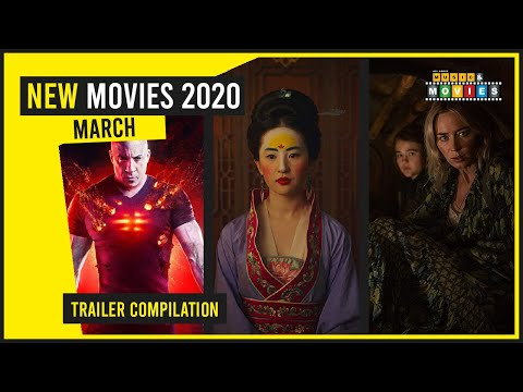 NEW MOVIE RELEASES MARCH 2020 OFFICIAL TRAILERS