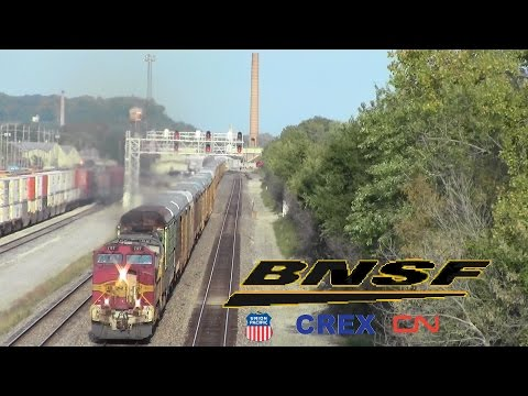 A Day on the BNSF in Ft Madison, IA