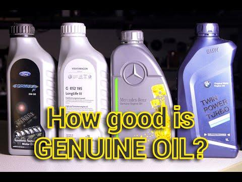 Genuine Oil Review - Ford vs Volkswagen vs Mercedes vs BMW