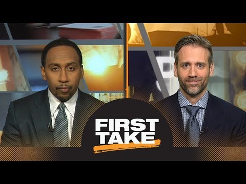 Stephen A. and Max react to Lakers breaking Rockets' win streak   First Take   ESPN