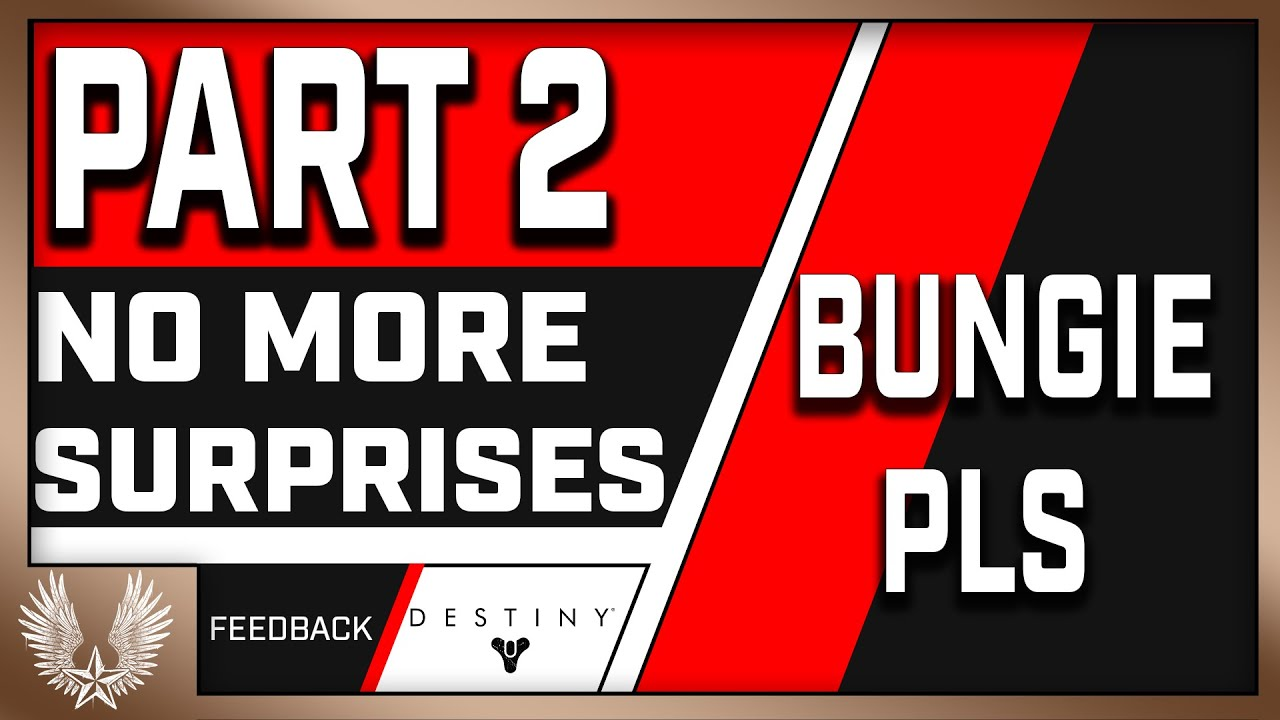 The Destiny 2 Content Calendar and Season Pass NEEDS to change (rant?) Part 2 thumbnail