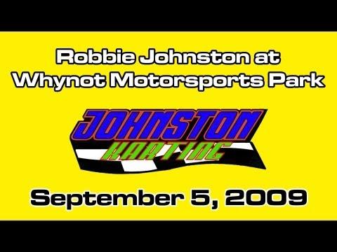 Robbie Johnston at Whynot Motorsports Park - September 5, 2009