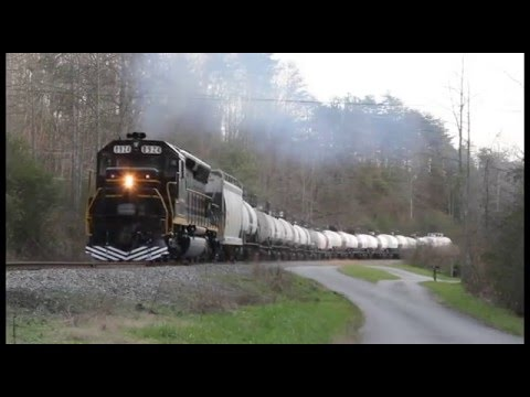 SD45 on Freight, Oak Ridge, TN