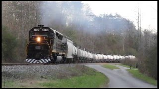 sd45 on freight oak ridge tn