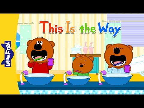 This Is the Way 2 | Nursery Rhymes | Favorite | Little Fox | Animated Songs for Kids