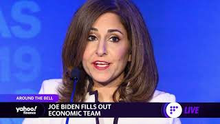 Yahoo finance's julie hyman and myles udland report on president-elect biden naming neera tanden to head the office of management budget janet yellen...