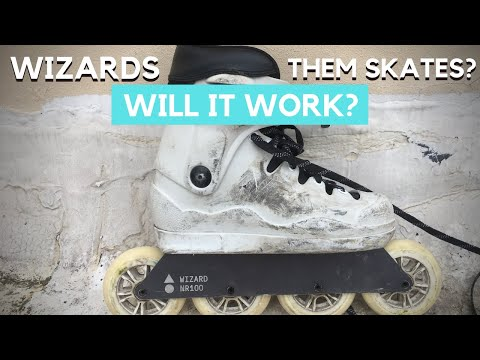 Them Skates With Wizard Frames? IS IT POSSIBLE?// Rollerblading Vlog