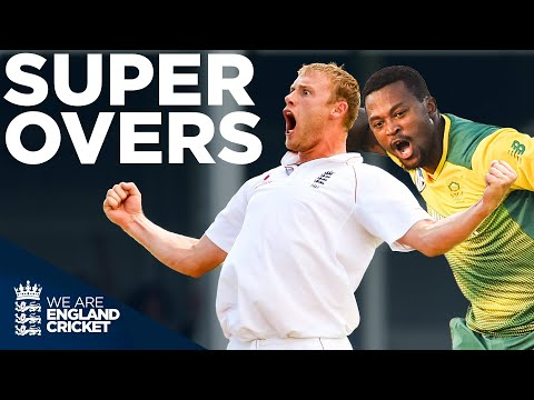 Magic Flintoff Spell To Kallis, 4 Wickets In An Over, Last Ball Tie! | Super Overs | England Cricket