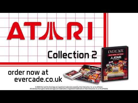 Evercade Atari Collection 2 Cartridge Trailer