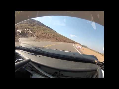 Pat Doran 2012 Pikes Peak Hill Climb RS200 Evolution Top Section Practice