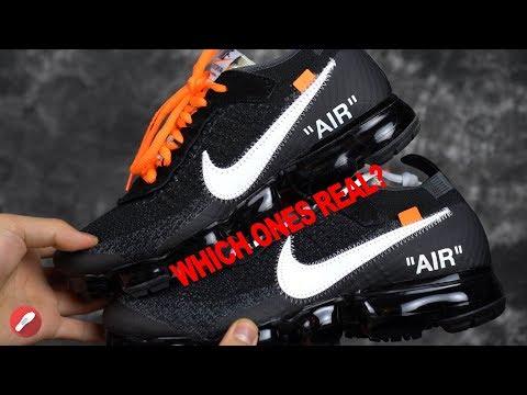 Nike Off White Vapormax Fake Comparison!