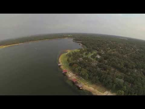 First Drone Flight: Lake Athens, Texas Labor Day 2013