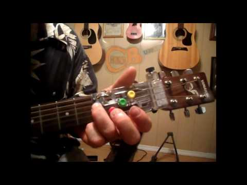 how to play long haired country boy (CDB) with chordbuddy