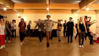 RaveDavid choreo: Glee Cast - Jingle Bells (1)