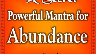 Mata Lakshmi Wealth mantra - Most Powerful Lakshmi Mantra for Money And Prosperity