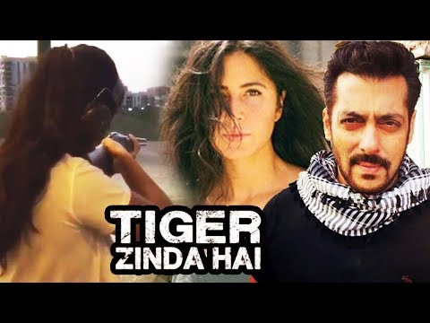 Salman Khan और Katrina Kaif ने सेट पर की बंदूकबाजी - Tiger Zinda Hai (Video)