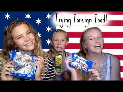 New Zealanders Try American Junk Food!