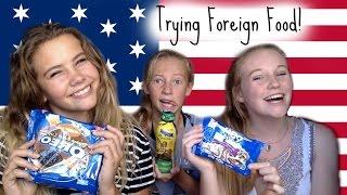 New Zealanders Try American Junk Food!