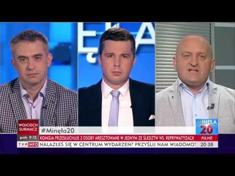 KOD i ONR Minęła Dwudziesta TVP Info 27.06.2017 Zadyma w Radomiu