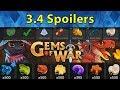 Gems of War: 3.4 Spoilers | Doomskulls and Pets