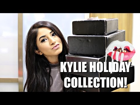 Kylie Cosmetics Holiday Collection Unboxing + Giveaway | (CLOSED) |  Aashna Shroff
