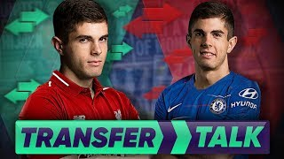 Download Video Liverpool & Chelsea To Battle For £100M Christian Pulisic Transfer! | Transfer Talk MP3 3GP MP4