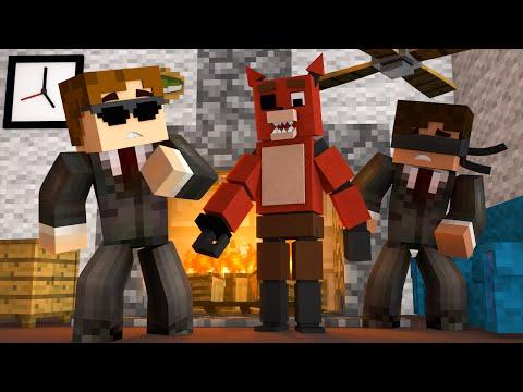 FNAF World - FIGHTING EVIL FOXY! (Minecraft Roleplay) Night 4
