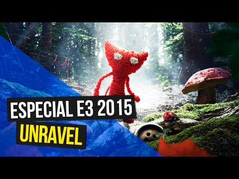 Unravel Demo trailer gameplay - E3 2015 - Unravel trailer (Eletronics Arts)
