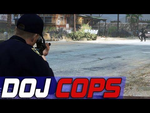 Dept. of Justice Cops #521 - The Standoff
