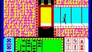 Impossible Mission Walkthrough, ZX Spectrum