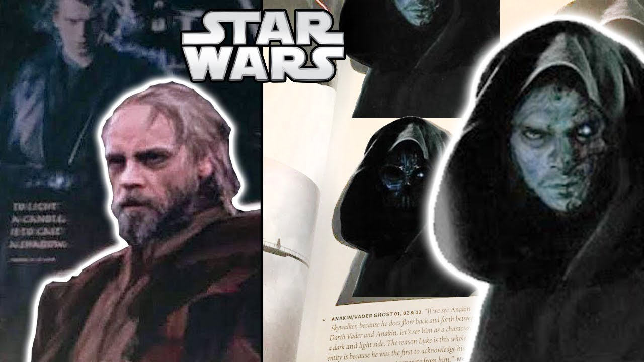 Jj Abrams Vader And Anakin Concepts For Sequel Trilogy Explained Star Wars Theory